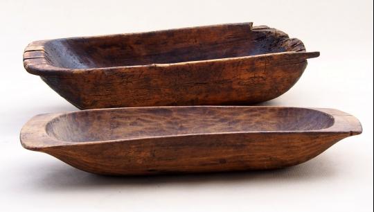 Niecki drewniane